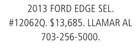 2013 Ford Edge Sel