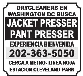 Jacket Presser / Pant Presser