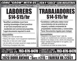 Laborers - Trabajadores