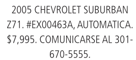 2005 Chevrolet Suburban Z71