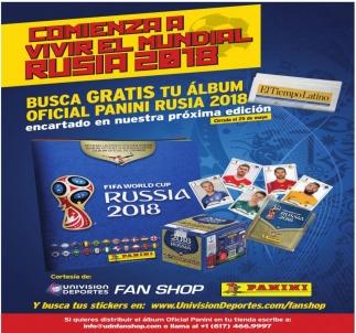 Comienza a Vivir el Mundial Rusia 2018