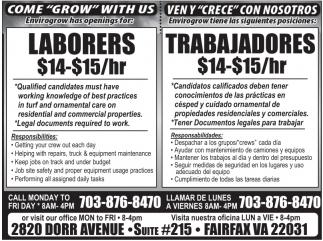 Laborers/ Trabajadores