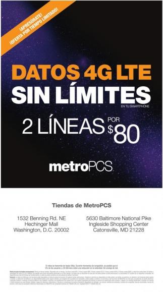 Datos 4G Lite sin Límites
