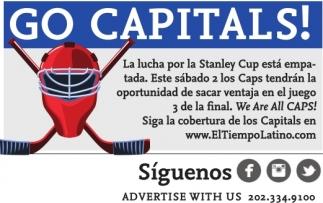 Go Capitals!