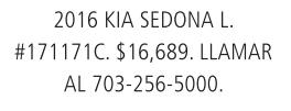 2016 Kia Sedona L