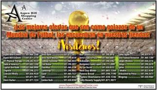 ¡Las Mejores Ofertas que son como Golazos de un Mundial de Futbol las Encuentran en Nuestras Tiendas!