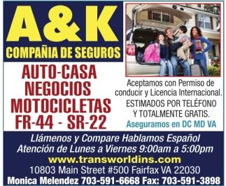 Aceptamos con permiso de conducir y licencia internacional