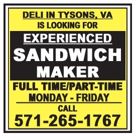 Experienced Sandwich Maker