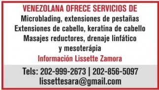 Venezolana Ofrece Servicios De