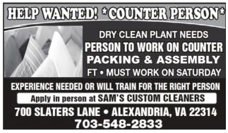 Sam's Custom Cleaners