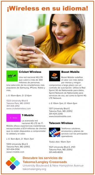 ¡Wireless en su idioma!