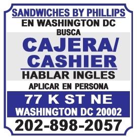 Cajera/Cashier