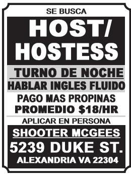 Host/Hostess