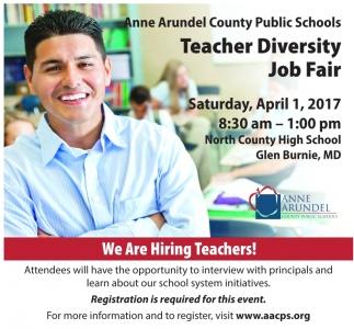 Teacher Diversity Job Fair