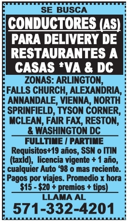 Se Busca Conductores (as)