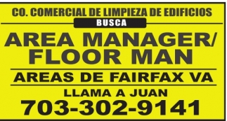 Area Manager/FLoor Man