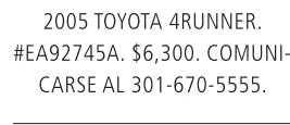 2005 Toyota 4Runner