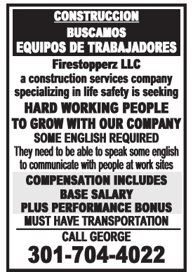 Buscamos Equipos de Trabajadores
