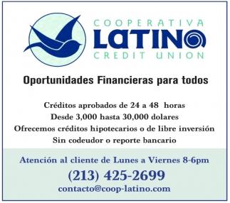Oportunidades Financieras para Todos