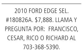 2010 Ford Edge SEL