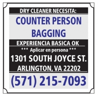 Counter Person / Bagging