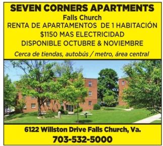 Renta de Apartamentos de 1 Habitacion