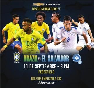 Brasil vs El Salvador