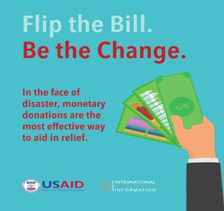 Flip the Bill. Be the Change
