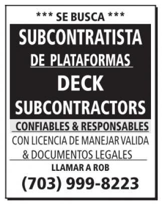Subcontratista
