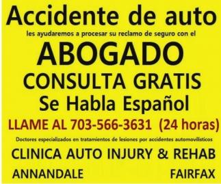 Accidente de Auto