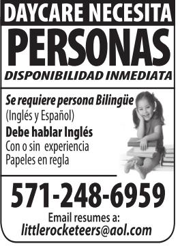 Se Requiere Persona Bilingue