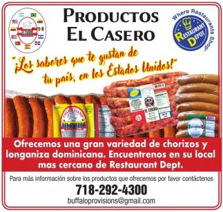 Productos El Casero