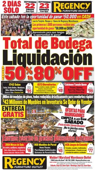 Total de Bodega Liquidacion