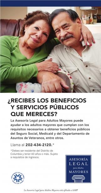 ¿Recibes los Beneficios y Servicios Publicos que Mereces?
