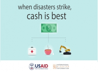 When Disasters Strike, Cash is Best