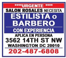 Estilista o Barbero