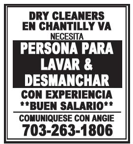 Persona para Lavar & Desmanchar