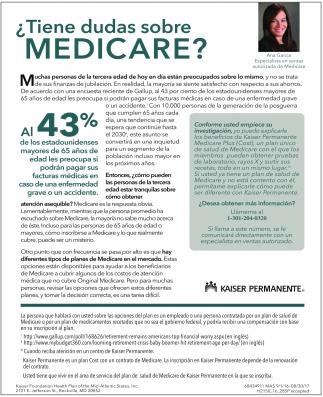 ¿Tienes dudas sobre Medicare?