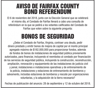 Bond Referendum