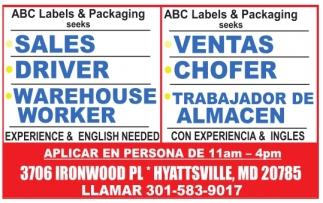 Sales/Ventas