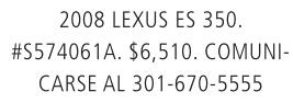2008 Lexis ES 350