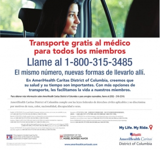Transporte Gratis al Medico para Todos los Miembros