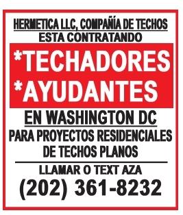 Techadores / Ayudantes