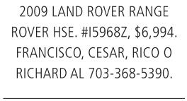 2009 Lan Rover Range Rover HSE