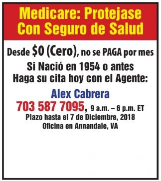 Medicare: Protejase con Seguro de Salud
