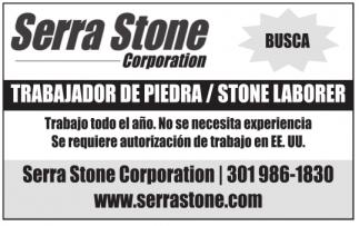Trabajador de Piedra / Stone Laborer