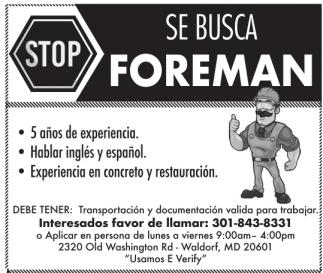 Se Busca Foreman