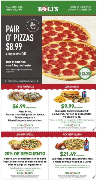 Pair O' Pizzas