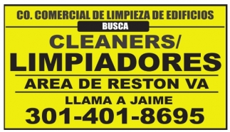 Cleaners / Limpiadores