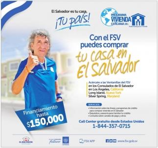 Con el FSV Puedes Comprar tu Casa en El Salvador